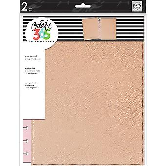 Create 365 Big Snap-In Hard Cover Planner-Rose Gold COLB-9