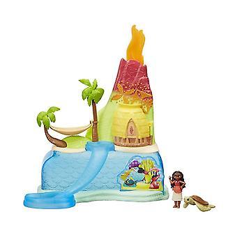 ديزني الأميرة موانا جزيرة مغامرة الأطفال اللعب تتضمن مجموعة الرقم السلحفاة