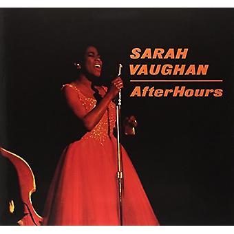 Sarah Vaughan - efter timer [Vinyl] USA import
