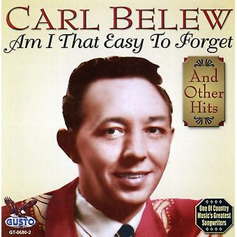 Carl Belew - Am I That Easy to Forget [CD] USA import
