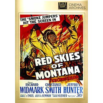 Red Skies of Montana [DVD] USA import
