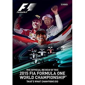F1 2015 officielle anmeldelse [DVD] USA importerer
