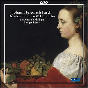 J.f. Fasch - Fasch: Dresden Sinfonien und Konzert [CD] USA import