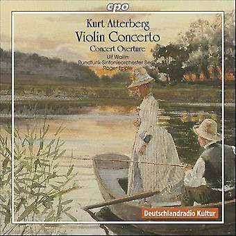 K. Atterberg - Kurt Atterberg: Violin Concerto; Concert Overture [CD] USA import