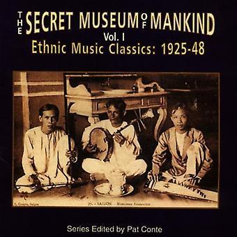 Secret Museum of Mankind - Secret Museum of Mankind: Vol. 1-Ethnic Music Classics [CD] USA import