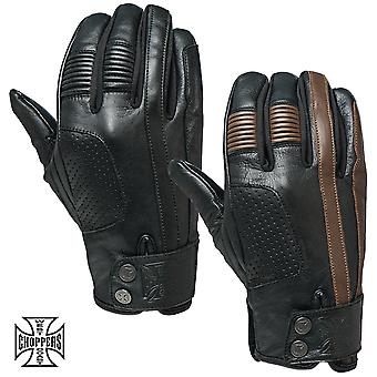 West Coast choppers gloves grunge Leather Riding Glove