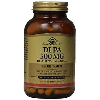 Solgar Dlpa 500 Mg Vegetable Capsules 100
