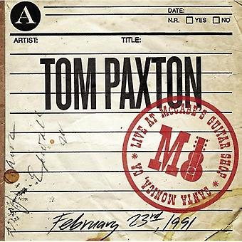 Tom Paxton - Live at McCabe's Guitar Shop [CD] USA import