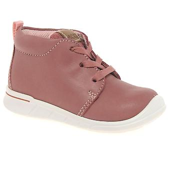 Ecco Marble Lace Girls First Boots