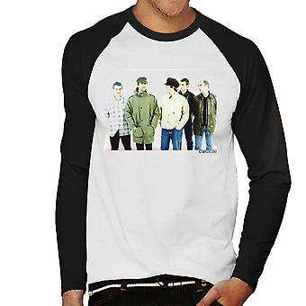 Oasis Band Noel Liam Gallagher Men's Baseball Long Sleeved T-Shirt