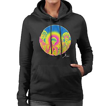 Pink Floyd Ruskin Park Shoot Infrared 1967 Women's Hooded Sweatshirt