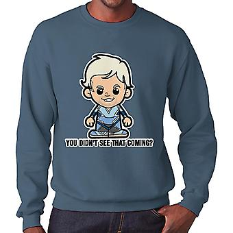 Lil Quicksilver You Didnt See That Coming Men's Sweatshirt