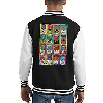 Comic Soup Collection Kid's Varsity Jacket