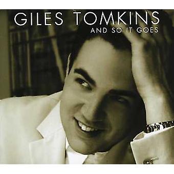 Giles Tomkins - og så det går [CD] USA import