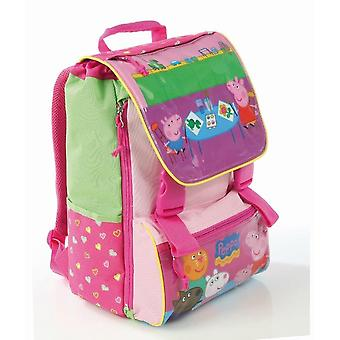 Peppa Pig Backpack Sian Rose Elementary School