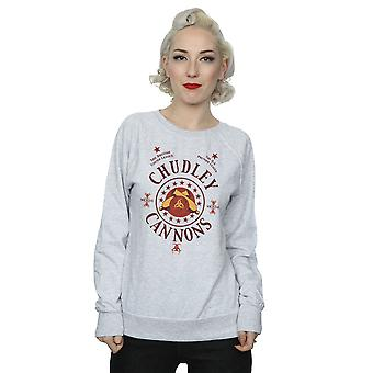 Harry Potter Women's Chudley Cannons Logo Sweatshirt
