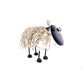 METAL SHEEP 4.3X21.5X45CM HOME DECORATION ORNAMENT