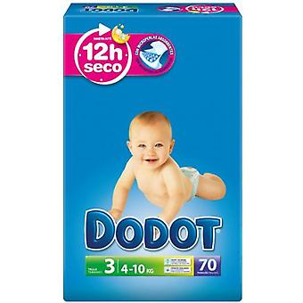 Dodot Diapers Size 3 (4-10 Kg) 70 Units (Childhood , Nappies and changers , Nappies)