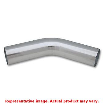 Vibrant Aluminum Piping - 45 deg. Elbow 2875 Polished Fits:UNIVERSAL 0 - 0 NON