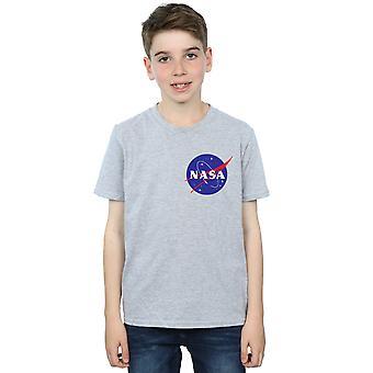 NASA Boys Classic Insignia Chest Logo T-Shirt