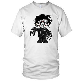 Edward Scissorhands Friday 13th Hybrid Mens T Shirt