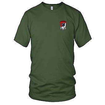 US Army - 4 11 Aviation Cavalry Regiment brodert Patch - Mens T-skjorte