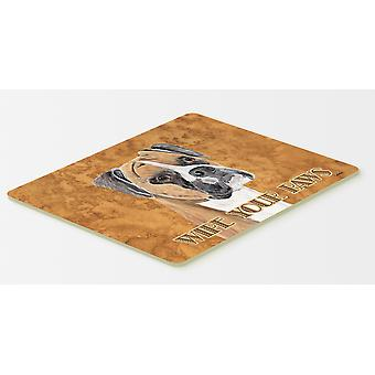 Carolines Treasures  SC9121CMT Boxer Kitchen or Bath Mat 20x30