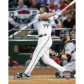 Paul Goldschmidt 3 run home Run 2017 National League Wild Card Game Photo Print
