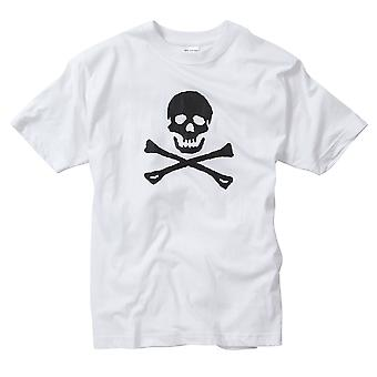 Skull And Crossbone Printed T-shirt 100% Cotton