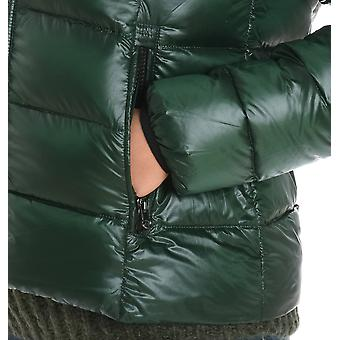 Hetregó ladies 8F692SYC green polyester Quilted Jacket