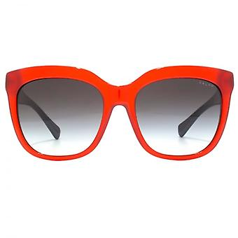 Ralph By Ralph Lauren Spotty Square Sunglasses In Red Navy