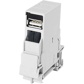 N/A Connector, mount J80023A0004 Light grey Te