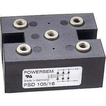 Diode bridge POWERSEM PSD 105-16 Figure 15 1600 V