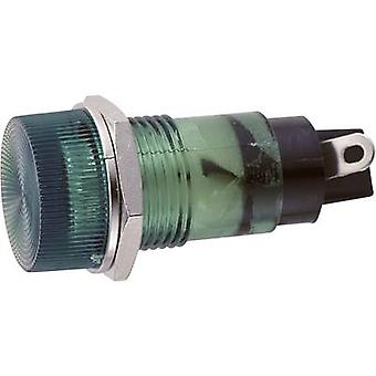 Standard indicator light with bulb Green B-432