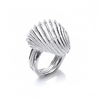 Cavendish French Silver Seashell Ring
