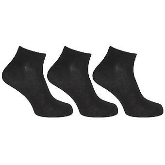 Red Tag Active Sportswear Mens Cotton Rich Trainer Socks (3 Pairs)