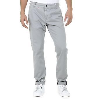 Andrew Charles Mens Pants Light Grey Amara