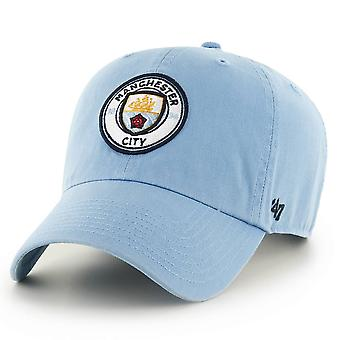 47 Brand EPL Mancester City Clean Up Cap - Columbia