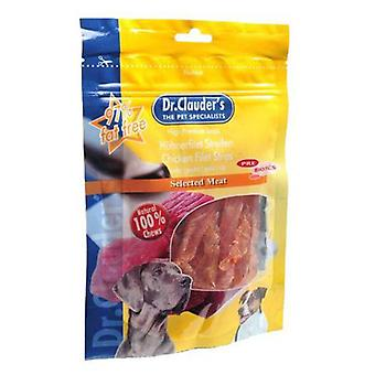 Dr. Clauder's Chicken breast strips (Dogs , Treats , Chewy and Softer Treats)