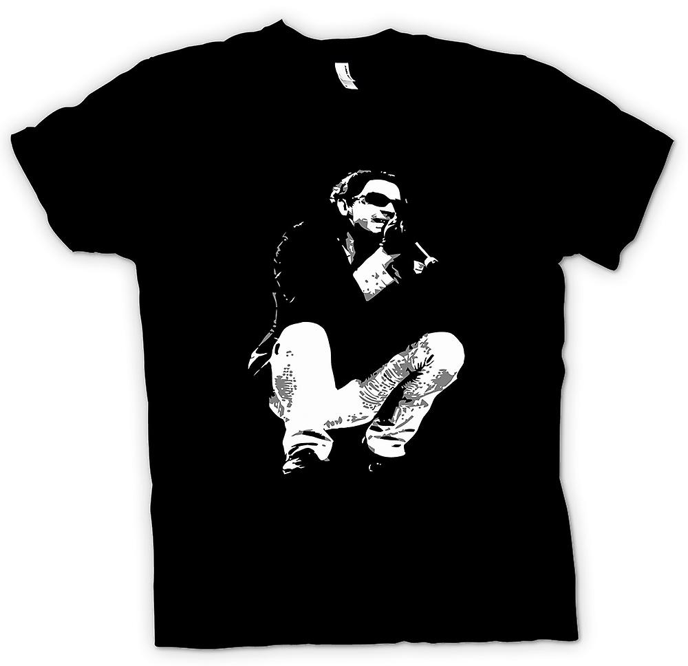 T-shirt homme - Michael Hutchence d'INXS - BW