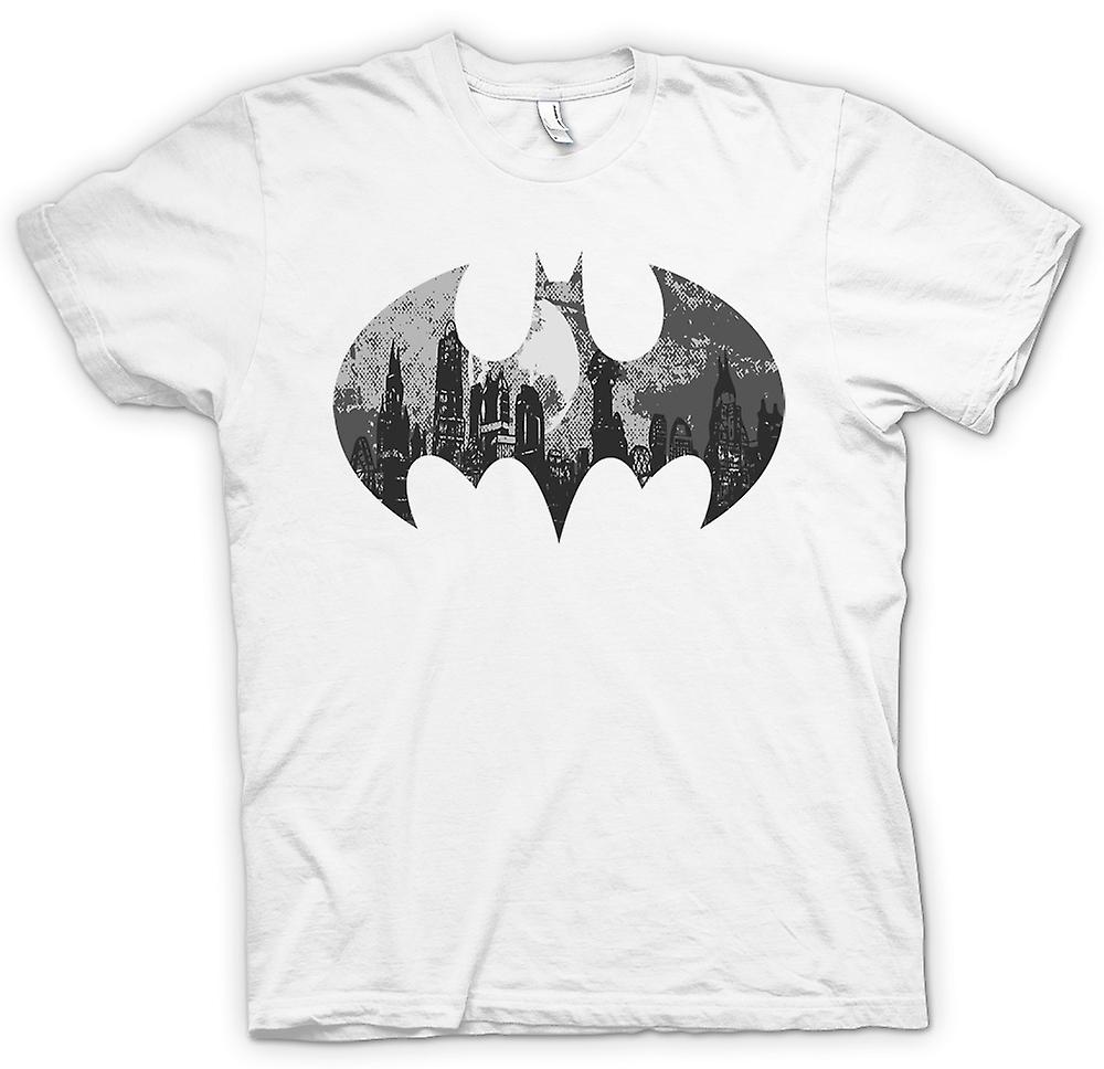 Herr T-shirt - Batman Logo - Gotham City