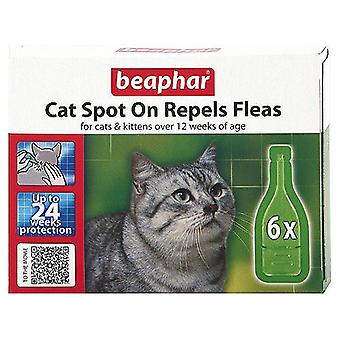 BEAPHAR CAT KITTENS SPOT ON TREATMENT REPELS FLEAS 24 WEEKS PROTECTION