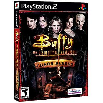 Buffy de Vampire Slayer Chaos bloedingen (PS2)