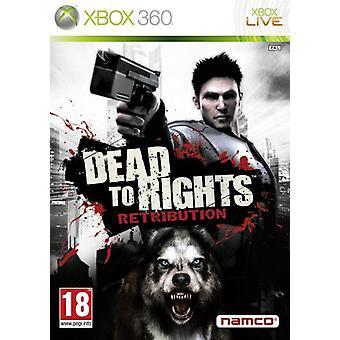 Dead to Rights-Retribution (Xbox 360)