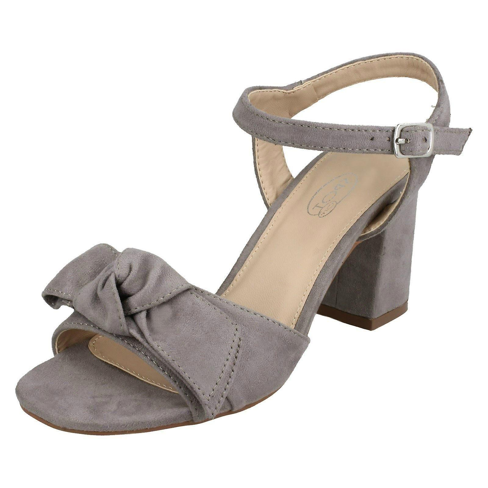 F10840 Size Blocked 41 EU Size UK Size Grey Heel On Sandals 10 US 8 Spot Microfibre Ladies xZCwOqXZ