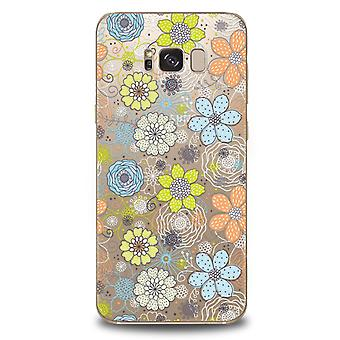 Flower Power-cover til Samsung Galaxy S8