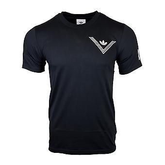 Adidas Originals X bianco alpinismo un punto nero t-shirt BQ0947