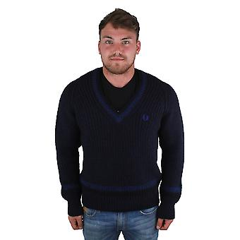 Fred Perry Heavy Knit Tennis Sweater K5140 143