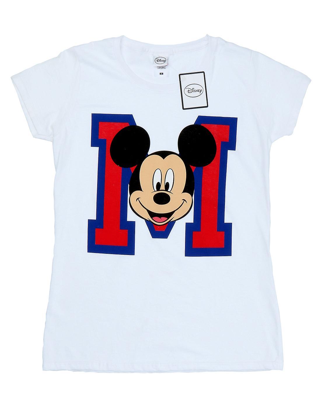 9275941b Disney Women's Mickey Mouse M Face T-Shirt | Fruugo