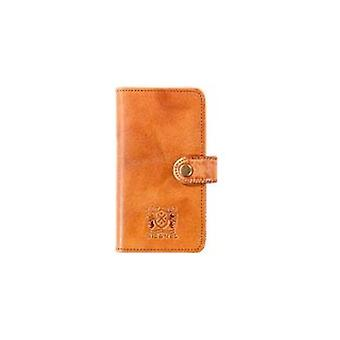 NIC & Mel Andrew Bookcase iPhone 6/6S Cognac